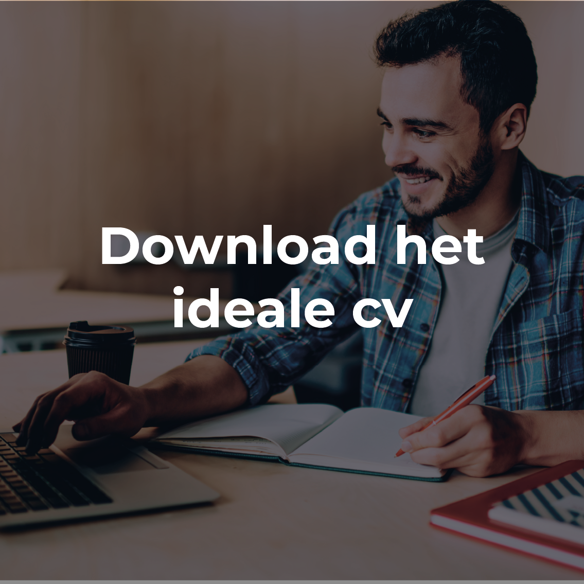 Download het ideale cv